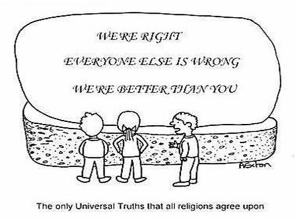 The Double Standards Hypocrisy Of Mainstream Religions Forbidden